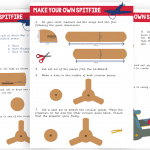 VE Day Make Your Own Spitfire