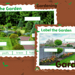 Label the Garden Activity