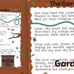 The Garden  Original TPET Poem