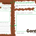 How does your Garden Grow? Plant Growth Activity