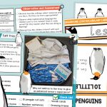 10 Little Penguins – Counting 1 Less Maths Tuff Tray Activity Pack