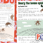 Narrative Poem – Henry the House Spider