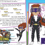 Week 4 Wellbeing Superhero Cyber Sense – Task Card