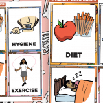 How To Be Healthy Cards