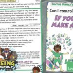 Week 5 Wellbeing Superhero Doctor Bubble – Task Card
