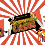 Welcome to the Grammar Circus Display Banner