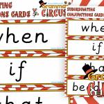 Subordinating Conjunctions Cards
