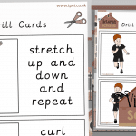 Victorian Schools Exercise Drill Cards