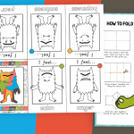 The Colour Monster Mini Colouring Booklet