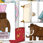 How to Wash a Woolly Mammoth Equipment Cut Outs