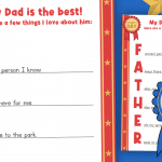 Father's Day Acrostic Poem Template