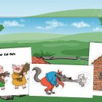 The Three Little Pigs Story Retelling Pack with Small World Background