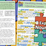 Identifying Nouns, Pronouns and Adjectives Activity