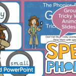 Group 5 Tricky Words PowerPoint