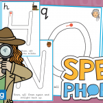 Upper Case Handwriting and Letter Formation Cards for SPEAK Phonics