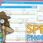 Lower and Upper Case Handwriting Letter Formation Practise for SPEAK Phonics