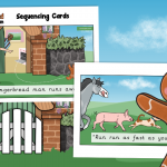 The Gingerbread Man Story Sequencing Cards