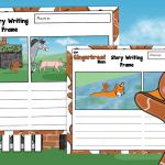 The Gingerbread Man Story Retell Writing Frames