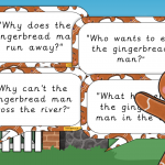 The Gingerbread Man Story Questions