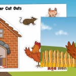 The Little Red Hen Story Retelling Pack
