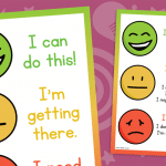 Smiley face Self Assessment Poster