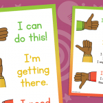 Thumbs Up Self Assessment Poster