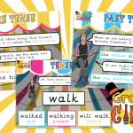 Past , Present and Future Tense Poster Pack