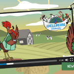 Week 1 Wellbeing Bird Roger the Routine Rooster – Animated Video Hook In