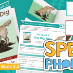 Block 2 Story Book and Teaching Pack Dig Dig Dig