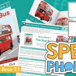 Block 2 Story Book and Teaching Pack The Red Bus