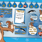 Simon Squirrel Water Area Classroom Display Pack
