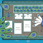 Proud Peacock Area Classroom Display Pack