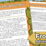Fill in the Adverbs