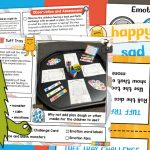 The Colour Monster Feelings and Emotions Tuff Tray
