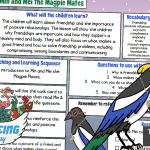 Week 6 Wellbeing Bird Min and Mei Magpie Mates – UKS2 Teaching Guide