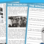The Windrush Generation Comprehension