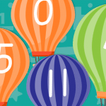 Hot Air Balloon Numbers 0-30