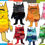 The Colour Monster Colour Shades and Names