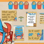 Claude Crab Sand Area Classroom Display Pack