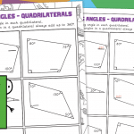 Find the Missing Angle – Quadrilaterals
